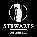 Stewart's Restaurant RGB logo_Main white